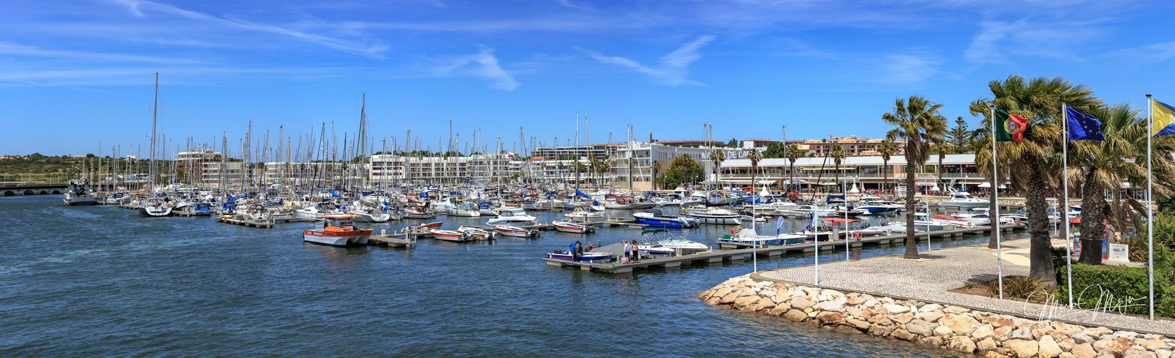 Marina de Lagos, Algarve, Portugal