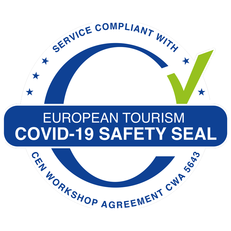 COVID-19 SAFETY SEAL
